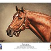 Secretariat Legendary Champion Art Print