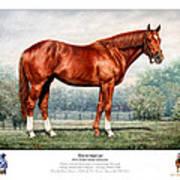 Secretariat Triple Crown Champion Art Print