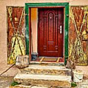 Secure Entrance Art Print