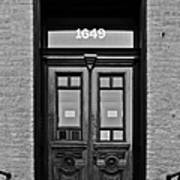 Sedgwick Street Old Town Chicago Art Print
