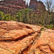 Sedona Arizona Cathedral Rock Art Print