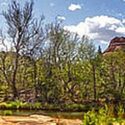 Sedona Arizona Cathedral Rock Panorama Art Print