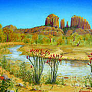 Sedona Arizona Art Print by Jerome Stumphauzer