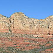 Sedona  Arizona  Mountain  Four Art Print