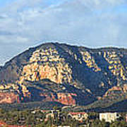 Sedona Arizona Panoramic Print by Mike McGlothlen