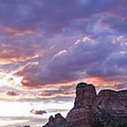 Sedona Arizona Sunset Art Print