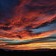 Sedona Az Sunset 1 Art Print