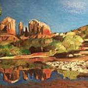 Sedona Cathedral Rock Art Print