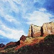 Sedona Mountains Art Print