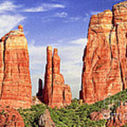 Sedona Red Rock Cathedral Rock State Park Art Print