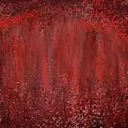 Seductive Embrace- Marsala Art Art Print