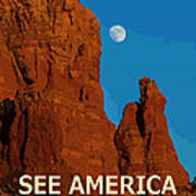 See America - Coconino National Forest Art Print