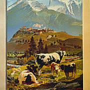 See Switzerland 1906 Art Print