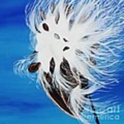 Milkweed Pod Art Print