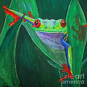 Seeing Eye To Eye Art Print by Terri Maddin-Miller