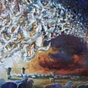 Seeing Shepherds Art Print by Daniel Bonnell