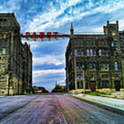 Seen Better Days Old Pabst Brewery Home Of Blue Ribbon Beer Since 1860 Now Derelict Art Print