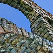 Segovia Aqueduct Arch By Diana Sainz Art Print