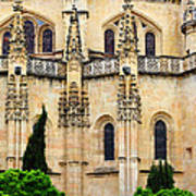 Segovia Cathedral Art Print