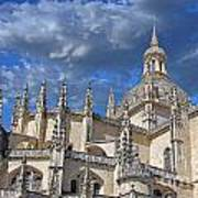 Segovia Gothic Cathedral Art Print by Ivy Ho