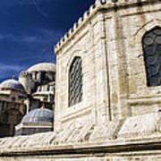 Sehzade Mosque Istanbul Art Print
