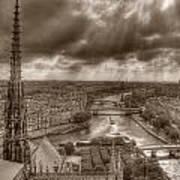 Seine From Notre Dame Art Print