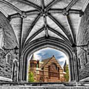 selective colors Princeton University Art Print
