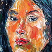 Self Portrait 2013 -3 Art Print