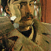 Self Portrait, C.1865 Panel Art Print