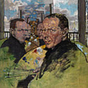 Self Portrait, C.1924 Art Print