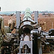 Self-propelled 8 Inch Howitzer M110 Lz Oasis R V N 1968 Art Print