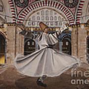 Selimiye Dervish Art Print