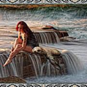Selkie Girl Art Print