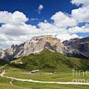 Sella Group. Italian Dolomites Art Print