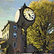Sellersville Time Art Print