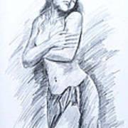 Semi Nude Art Print