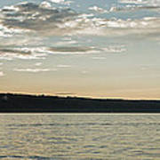 Seneca Lake Living Art Print
