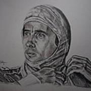 Senna The Gaze Of Myth. Art Print