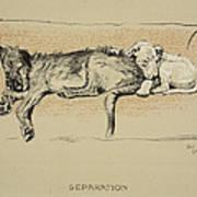 Separation, 1930, 1st Edition Art Print