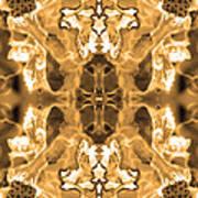 Sepia Bag Fairies 1 Art Print