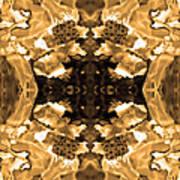 Sepia Bag Fairies 3 Art Print