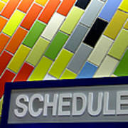 Septa Schedules Art Print