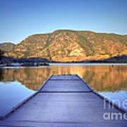 September 1st At Skaha Lake Art Print