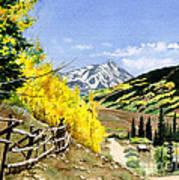 September Gold Art Print
