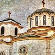 Serbian Orthodox Church - San Marcos California Art Print