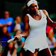 Serena Williams Making It Look Easy Art Print