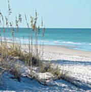Serene Florida Beach Scene Art Print