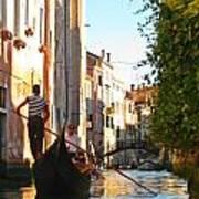 Serene Venice Scene Art Print