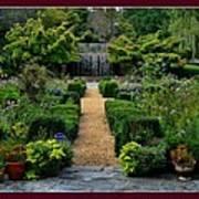 Serenity Garden. Art Print