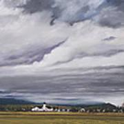Serenity In The Skagit Valley Art Print